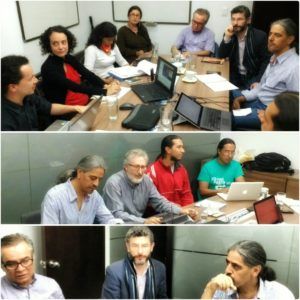 Algunos de los asociados en la Asamblea anual que se llevó a cabo el pasado 31 de marzo.
